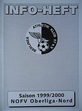 Programm 1999/00 Berliner AK 07 - Brandenburg Süd 05