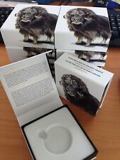 CANADA 2015 $100 for $100 MUSKOX Silver Coin Box/COA only - Lot of 10