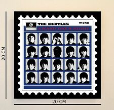 Retro Pop Art Beatles Hard Day's 8 INCH Picture Tile Gift Idea FREE UK P&P