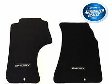 Front Floor Mats Set Fits Nissan 240SX 1989-1994 With 240SX Logo FMR-240