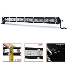 "LED Light Bar KAWELL 36W CREE Light Bar Ultra-Thin 13"" 2520LM 60 Degree Flo"