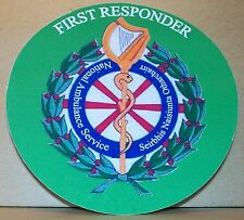 Ambulance Service First Responder Southern Ireland  vinyl sticker.