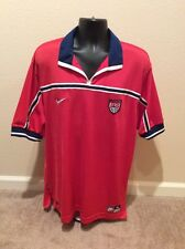 Rare Vintage 1998 World Cup USA Nike Authentic Soccer Jersey Size XL