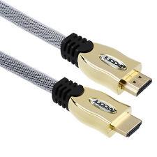 Juppa ® 1.5m Pro-Oro HDMI Cavo v2.0 ad alta velocità 24k GOLD 4k UltraHD TV 3d 2160p