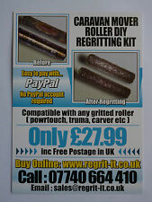 Caravan Mover Roller Regritting Repair Kit Free P&P In UK,Hundreds Sold, £27.99