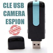 Clé USB Caméra Espion Détecteur de Mouvement 32 Go Max Détection Clef dictaphone