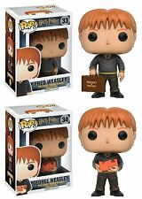 Funko POP! Harry Potter: Fred And George Weasley - Vinyl Figure Set NEW