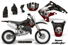 AMR Racing Honda CR85R Graphic Kit Decal Sticker MX Wrap 2003-2007 BONES BLACK