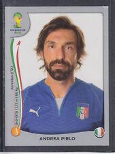 Panini - Brazil 2014 World Cup - # 327 Andrea Pirlo - Italia - Platinum