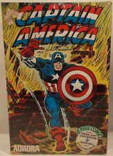 Aurora Comic Scenes Marvel Captain America Model Kit 1974  (Mint In Sealed Box)