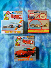 3 maquettes TOYKIT / PLAYKIT - Porshe 911 - Porsche 930 - Avion Curtiss