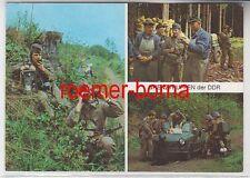 78982 Mehrbild Ak Grenztruppen der DDR 1978