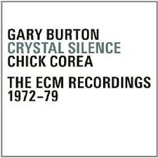 GARY/COREA,CHICK BURTON - CRYSTAL SILENCE-THE ECM RECORDINGS 1972-79 4 CD NEU