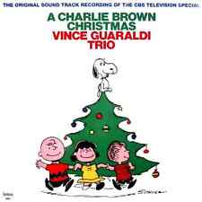 Sealed VINCE GUARALDI Trio a CHARLIE BROWN CHRISTMAS Vintage 1988 Record Album