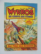 MYKROS - Die kämpfe der Titanen - Heft Nr. 6 / Bastei Comic