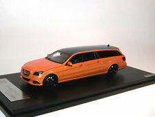 GLM 2015 Mercedes-Benz S212 T Binz lang Kombi orange/Carbon black, 1/43