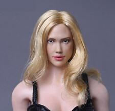 Jessica Marie Alba 1/6 Head Sculpt for Hot Toys Female Body