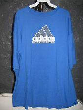 Adidas Classic Blue Adidas Basketball 2X T-Shirt