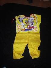 VINTAGE 1975 COLLEGEVILLE HALLOWEEN COSTUME - TWEETY BIRD   SIZE: 3-5