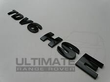 LAND ROVER DISCOVERY 3 4 DISCO BLACK TDV6 HSE REAR BACK BADGE LETTERING SET KIT