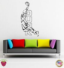 Wall Stickers Vinyl Basketball Duck Word Sport USA Decor For Living Room (z1673)