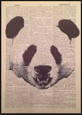 Panda Original 1933 Vintage Dictionary Page Print Wall Art Picture Upcycled