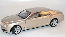 RASTAR Bentley Mulsanne Beige Metallic Color 1:18*New!