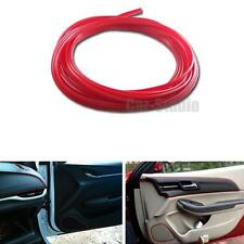 1x Red 5M Long Car Interior Exterior Moulding Tirm DIY Decorative PVC Strip Line