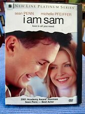 Oscar nominated for Best Actor - Sean Penn, Michelle Pfeiffer DVD I Am Sam (2001