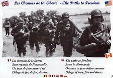 CP WW2 - The Paths to Freedom - Les chemins de la Liberté