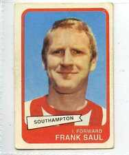 (Lr144-100) ABC Gum, Footballers Yellow Back, #82, Saul, Southampton, 1968, VG