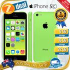 APPLE iPHONE 5C 8GB GREEN 100% UNLOCKED + 12MTH AUS WTY (NEW SEALED BOX)