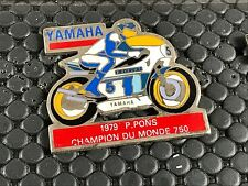 PINS PIN BADGE CAR MOTO BIKE GP 750 YAMAHA