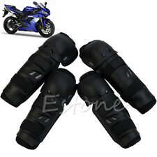 4Pcs Sport OFF ROAD Racing Motocross Knee Shin Elbow Guard Protector Pads Set