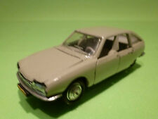 NOREV 810 CITROEN GS - GREY- 1:43 - RARE SELTEN - GOOD CONDITION