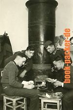 Altes Foto/Vintage photo: ZWEITER WELTKRIEG / WWII: Niepolomice cooking [#KH93]