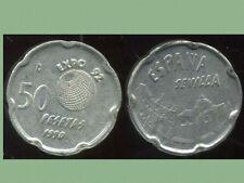 ESPAGNE 50  pesetas 1990  ( bis )   sevilla
