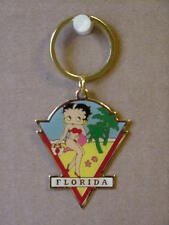 BETTY BOOP KEY CHAIN LOT 2 PIECES - FLORIDA DESIGN