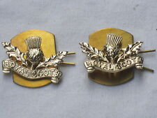 Royal Scots,anodisé Aluminium Staybright, Collier badges,Scotland