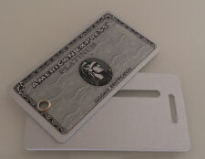 1x American Express Platinum luggage tag - Amex Centurion VIP gift  - HON