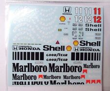 1/20 McLaren MP4/4 Full Decal for Tamiya (Mc Laren) A.Senna Prost