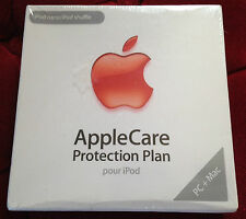 APPLECARE  PROTECTION PLAN pour ipod nano / shuffle ++ NEUF scellé + APPLE CARE