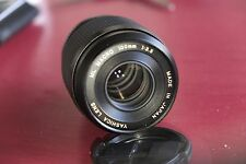 Rare YASHICA ML 100mm F 3.5 Camera Lens Contax YASHICA Mount