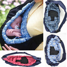 Newborn Infant Baby Toddler Native Cradle Pouch Ring Sling Kid Carrier Wrap Bag