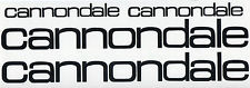 Cannondale Vintage style decal stickers set for your bike