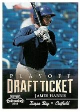 2011 PLAYOFF CONTENDERS PLAYOFF TICKETS PARALLEL #DT76 James Harris #15/99