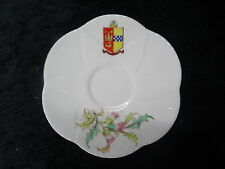 Foley China Saucer with Rothesay Crest.
