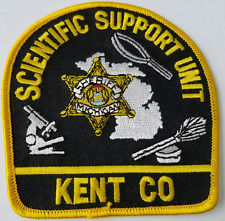 Scientific Support Unit Kent Co. Cloth Patch