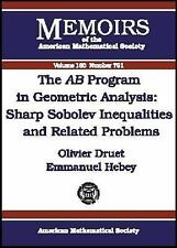 The Ab Program in Geometric Analysis: Sharp Sobolev Inequalities and R-ExLibrary
