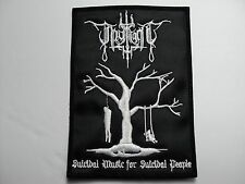 THY LIGHT SUICIDAL MUSIC EMBROIDERED PATCH